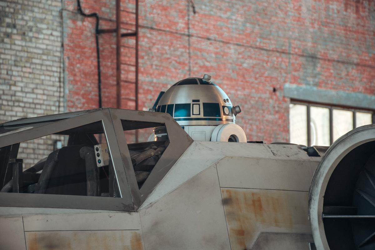 И даже R2D2 на месте!