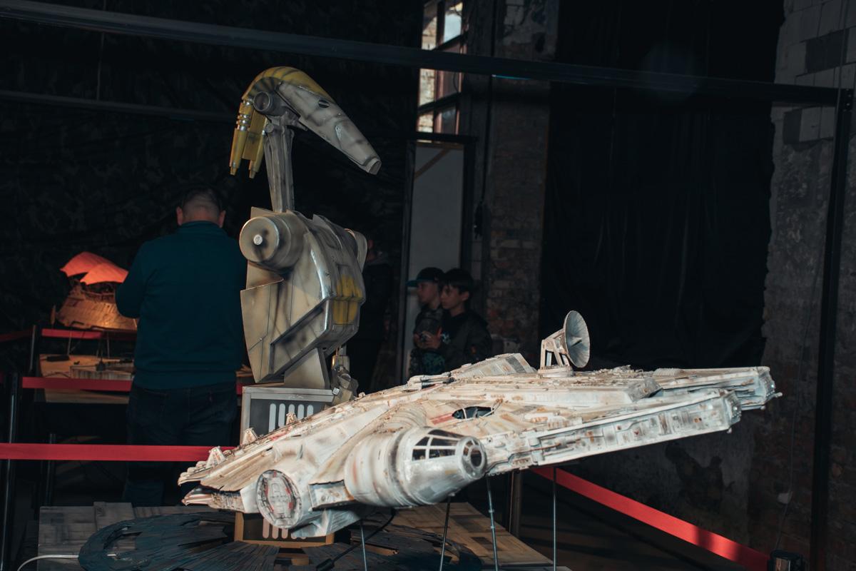 Тот самый музей Звездных войн. Эвоков не обнаружено