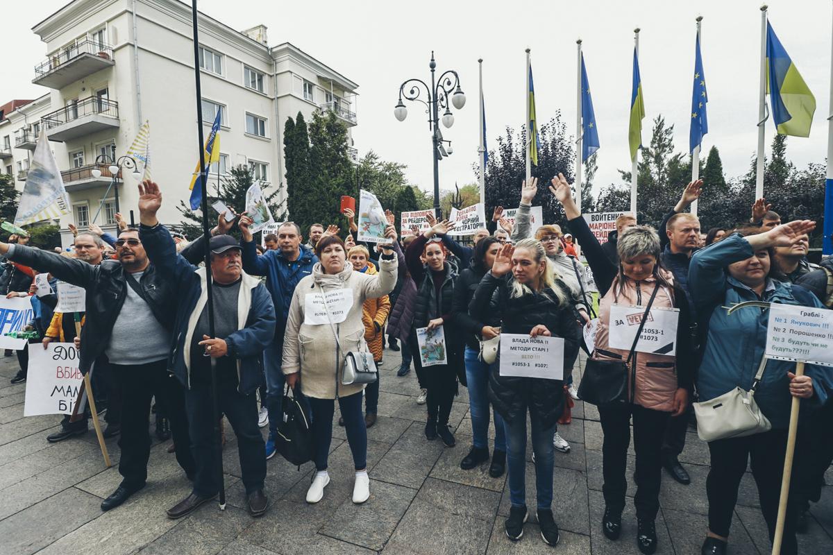 Они просили Зеленского наложить вето на законы номер 1053-1 и 1073