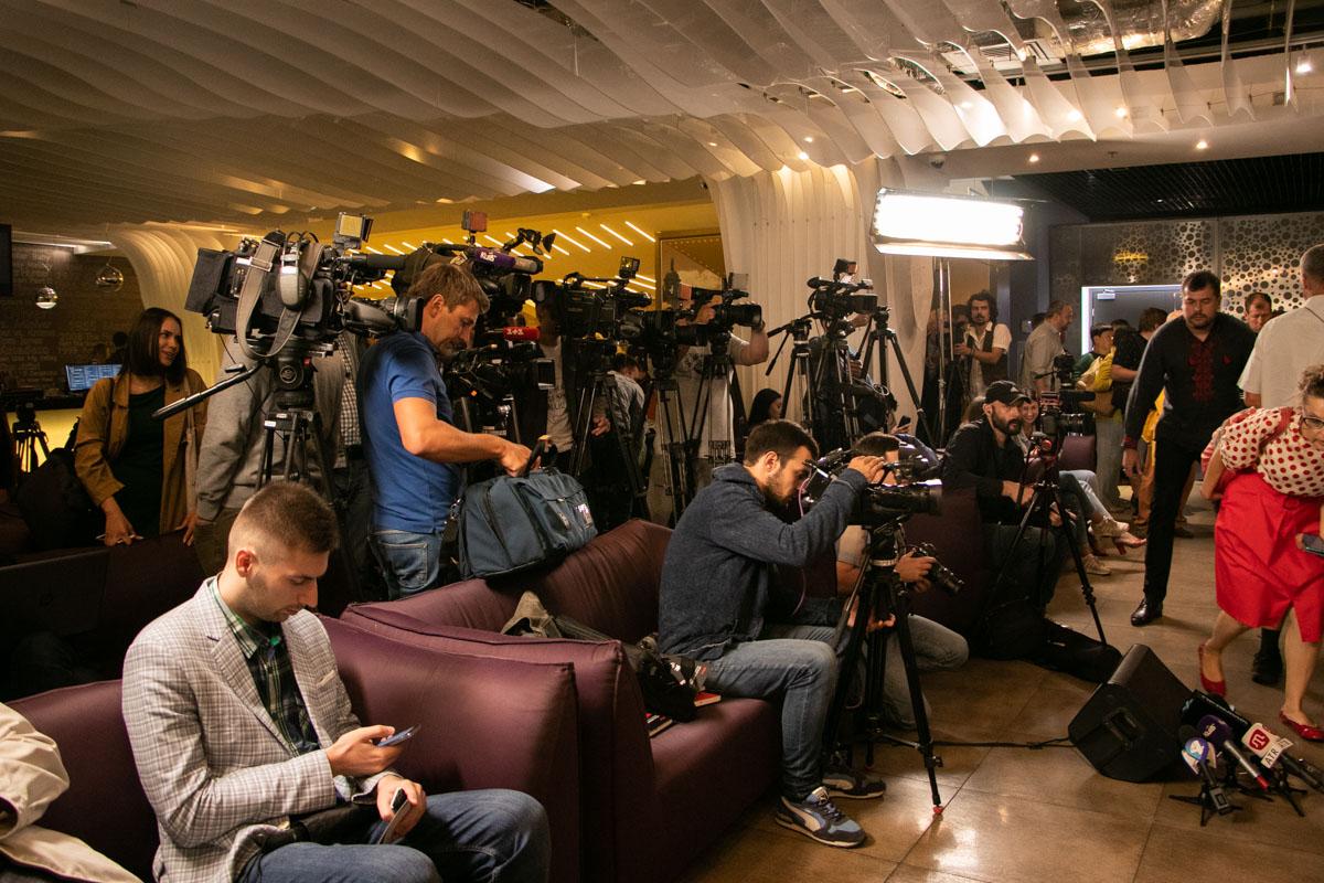 Предпремьерный показ фильма вызвал немалый ажиотаж среди представителей СМИ