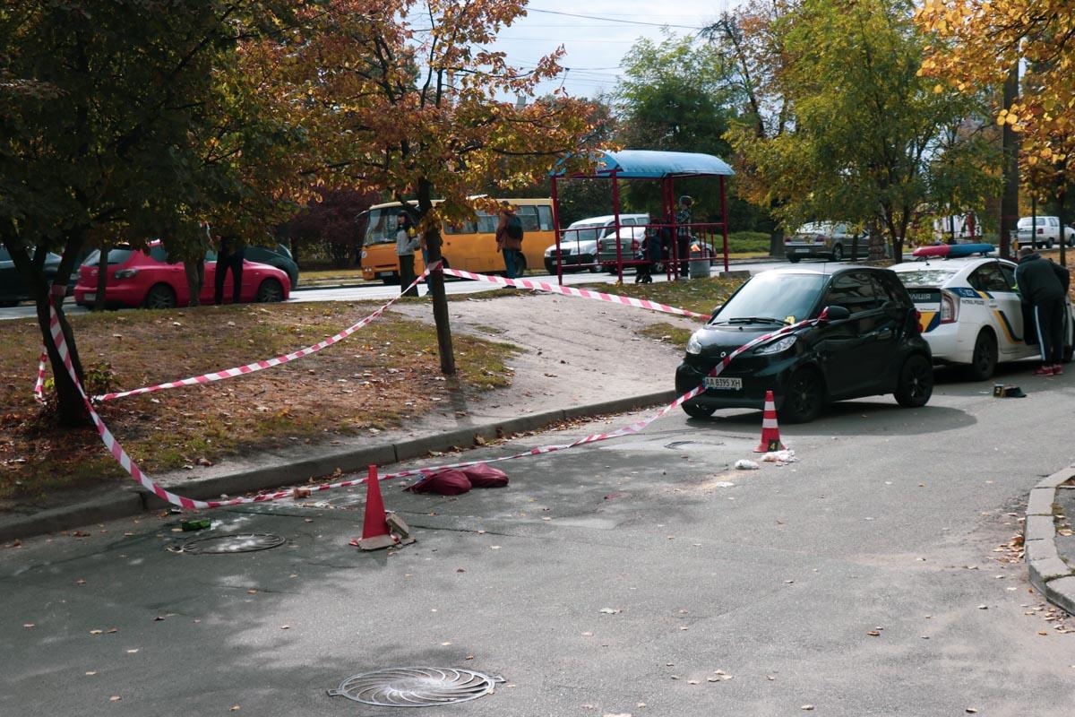 Возле Голосеевского парка Smart сбил мужчину