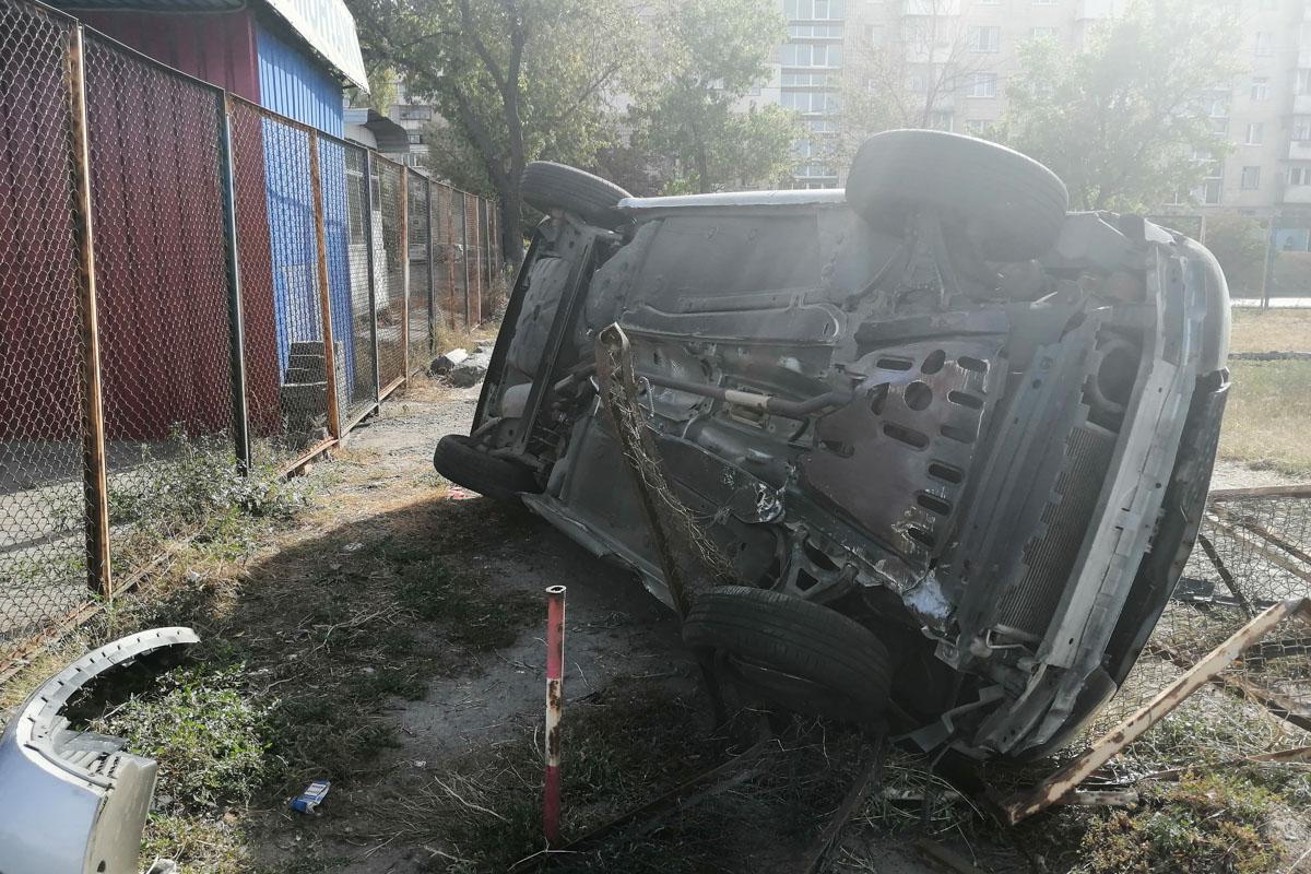 Обстоятельства ДТП выяснял экипаж патрульной полиции