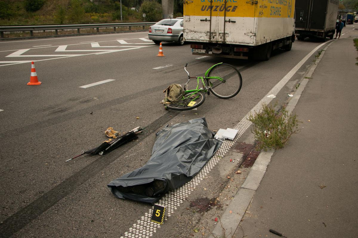 В Киеве по адресу улица Академика Заболотного, 37 произошло смертельное ДТП
