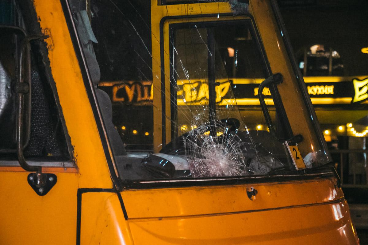 Инцидент произошел около 22:10