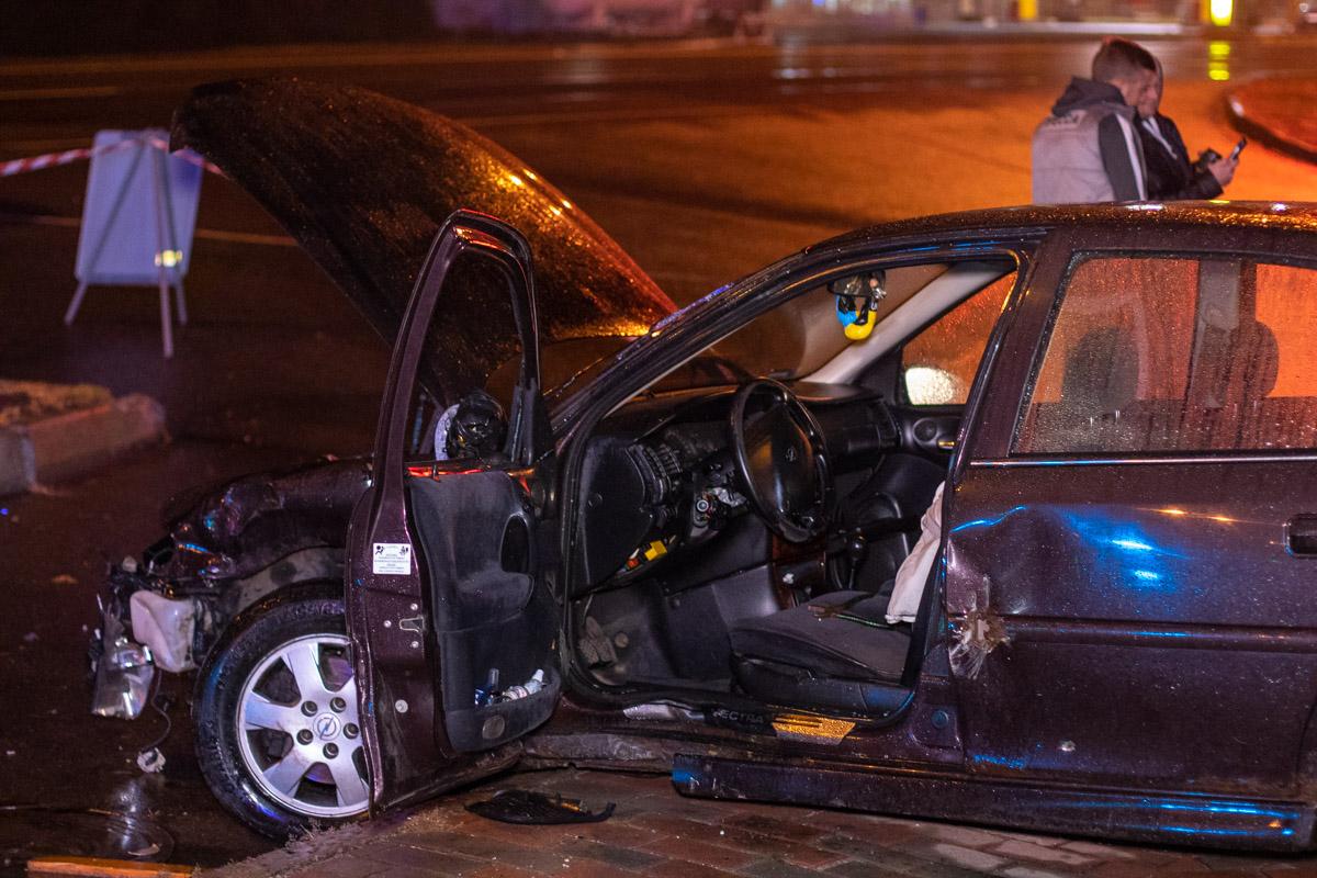 Свидетели говорят, что водитель был пьян