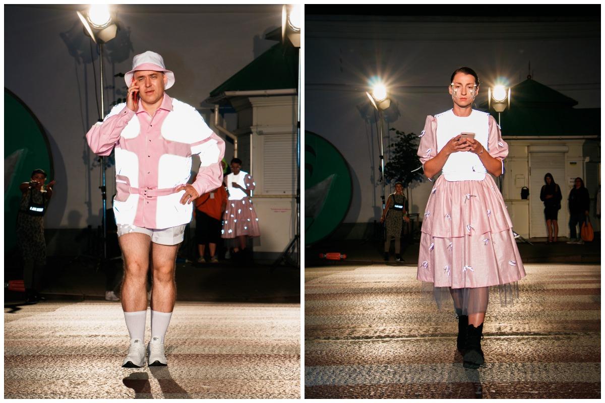 Перформеры-модели показали 10 лучших работ финалистов конкурса Safe Fashion, который проводили ROZETKA и Ukrainian Fashion Week