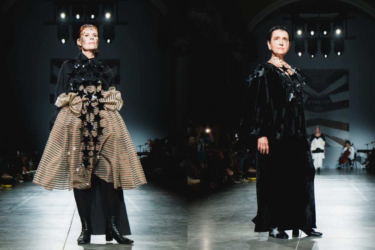 В Киеве в рамках Ukrainian Fashion Week на подиум вышли модели 55+