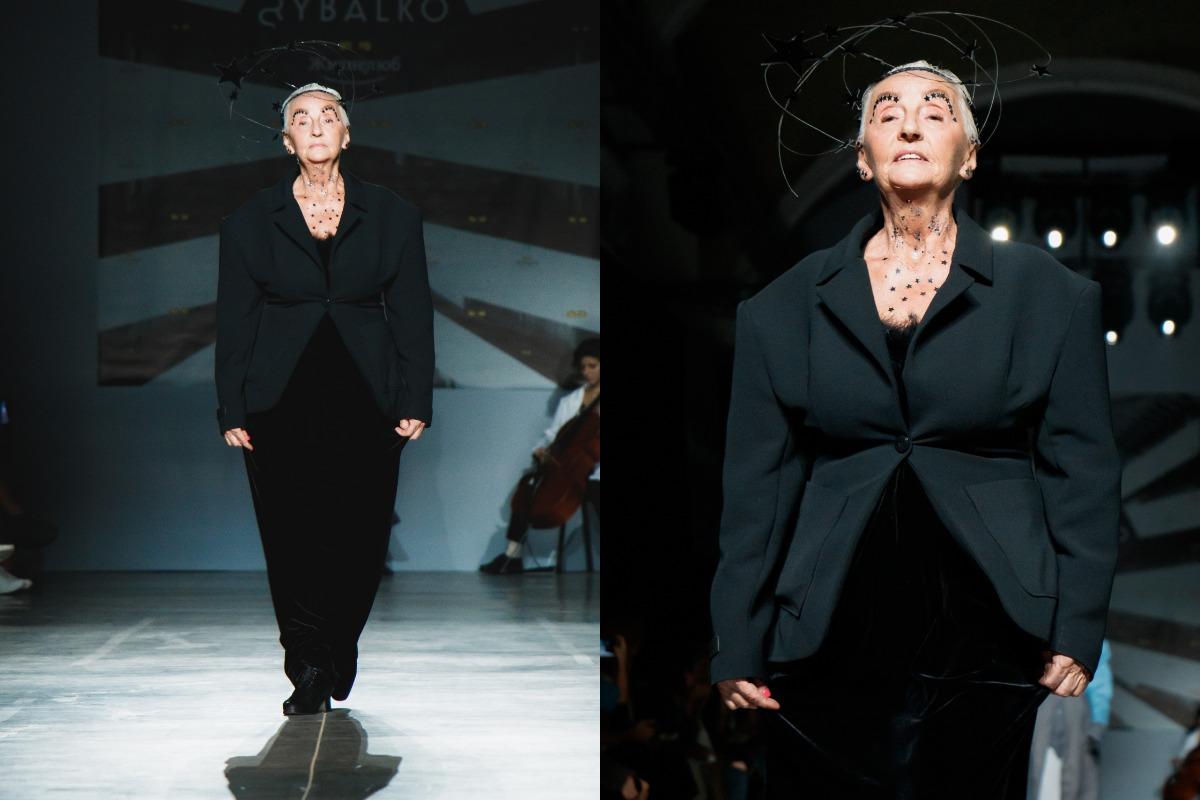 Модели представили бренд известного украинского дизайнера Марины Рыбалко