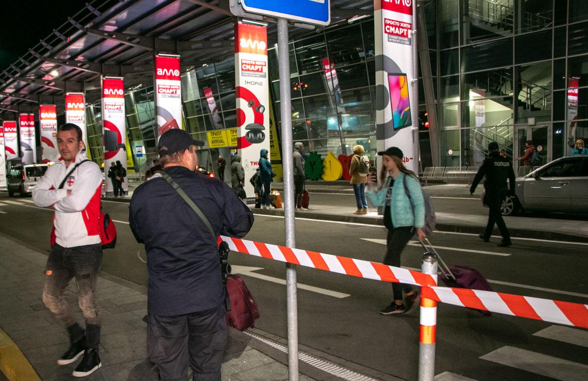 Эвакуация началась около 23:15