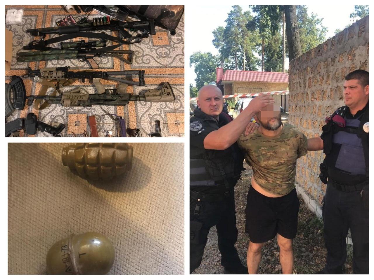 Подозреваемый оказал сопротивление полиции и бросил в них гранаты