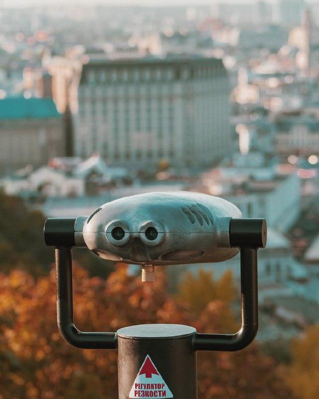 Тот, кто наблюдает 24/7. Фото: @biletskyi_y