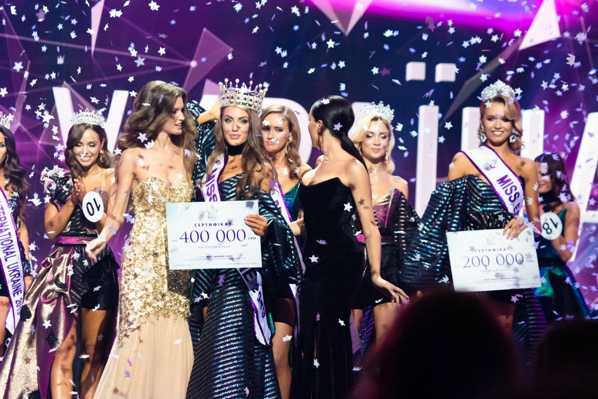 """В Киеве определили победительницу """"Мисс Украина 2019"""""""
