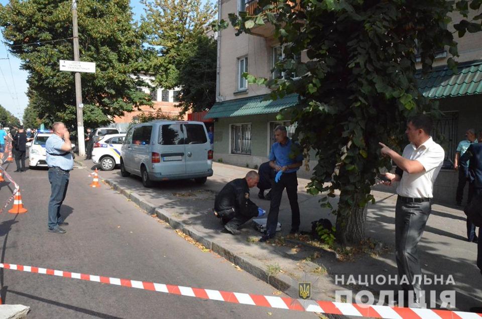 В Житомире неизвестные совершили попытку ограбить инкассаторов
