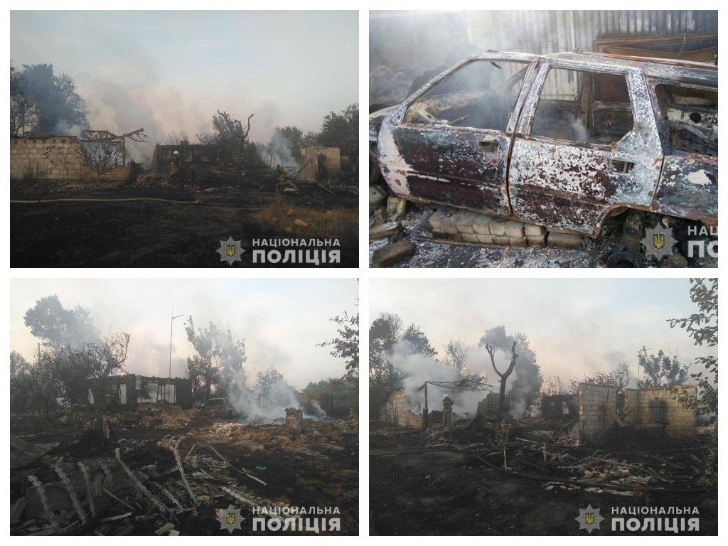 В борьбе с сухостоем пострадали три дома, пять автомобилей и трактор