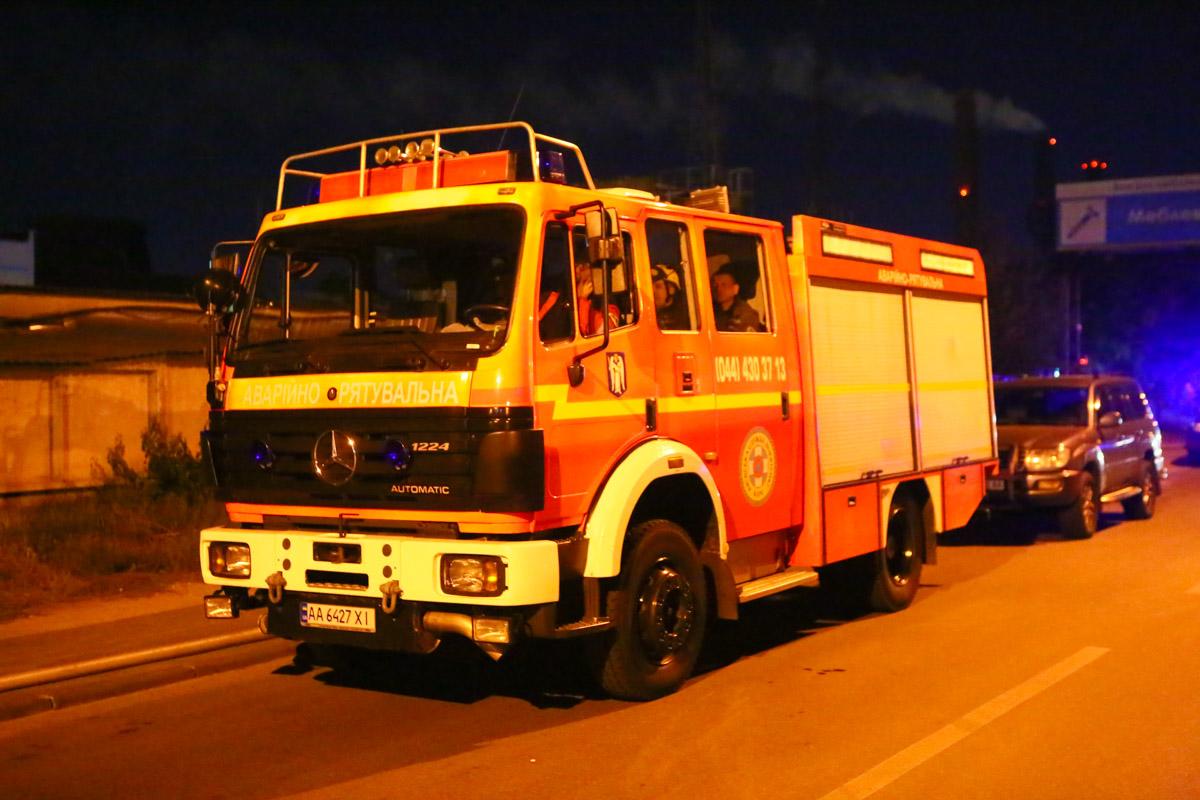 Всего на тушении пожара работали девять единиц пожарной техники