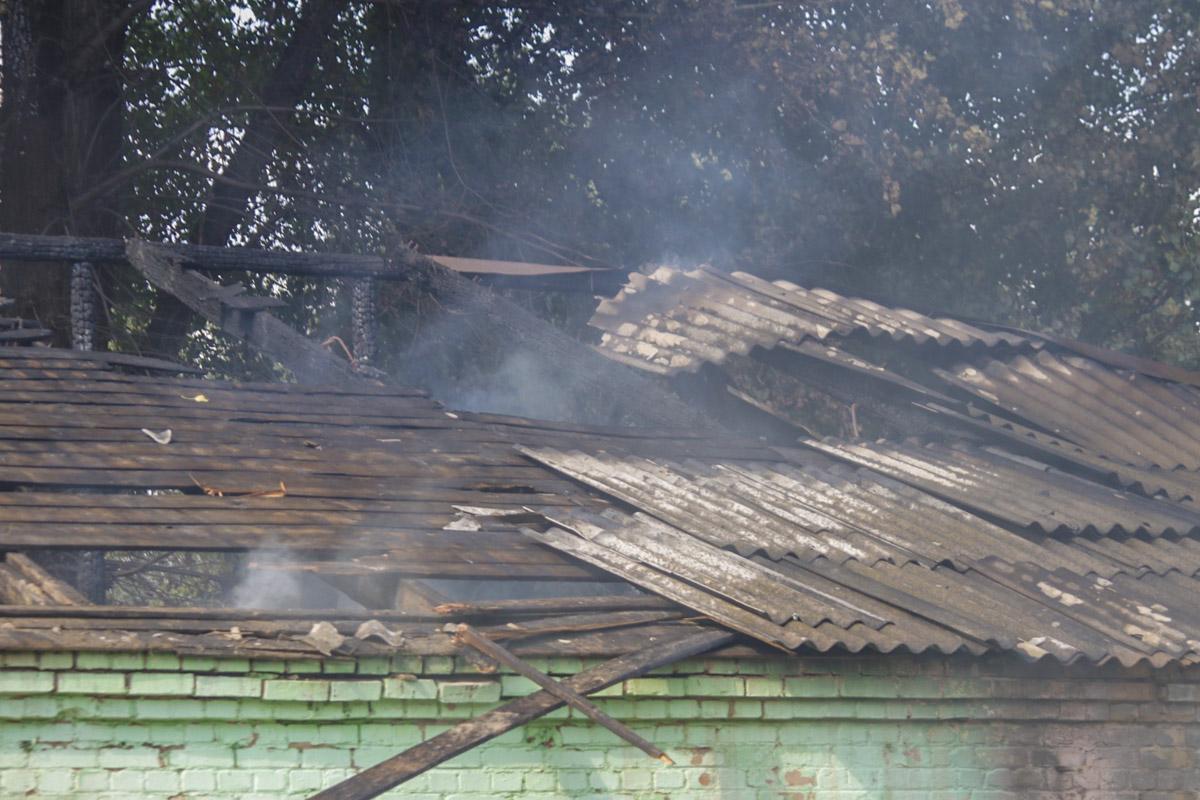 В пятницу, 13 сентября, в Киеве вспыхнули склады