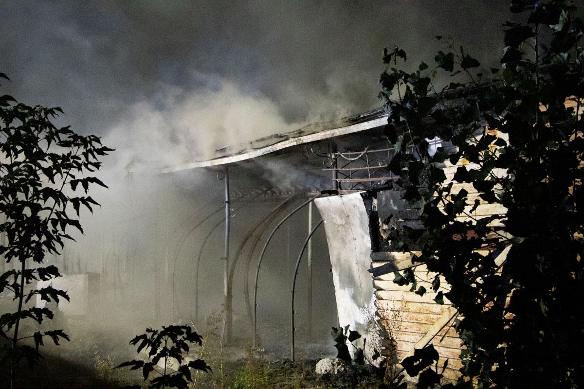 В 06:20 пожар полностью ликвидировали