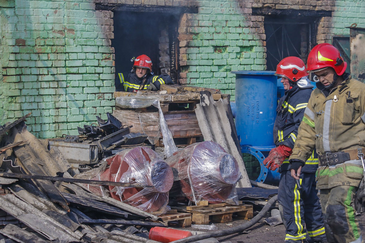 Пожар произошел по адресу улица Сырецкая, 37