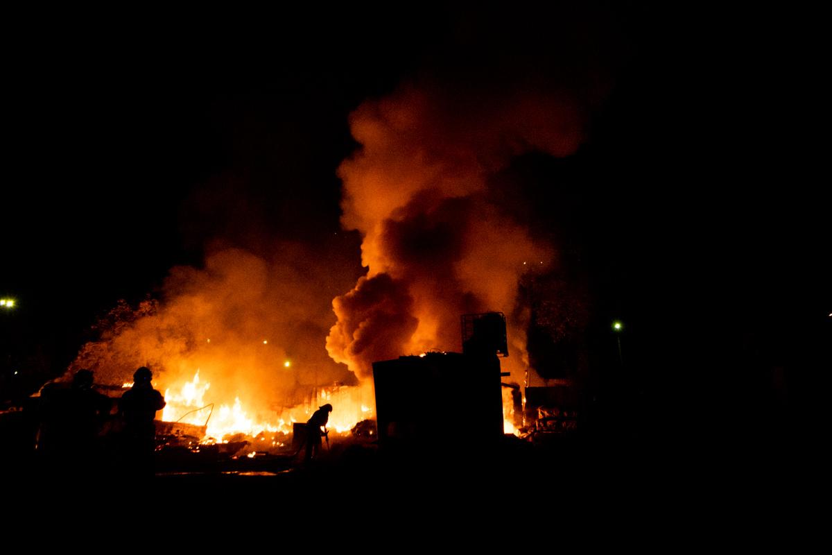 Члены кооператива утверждают, что это был поджог