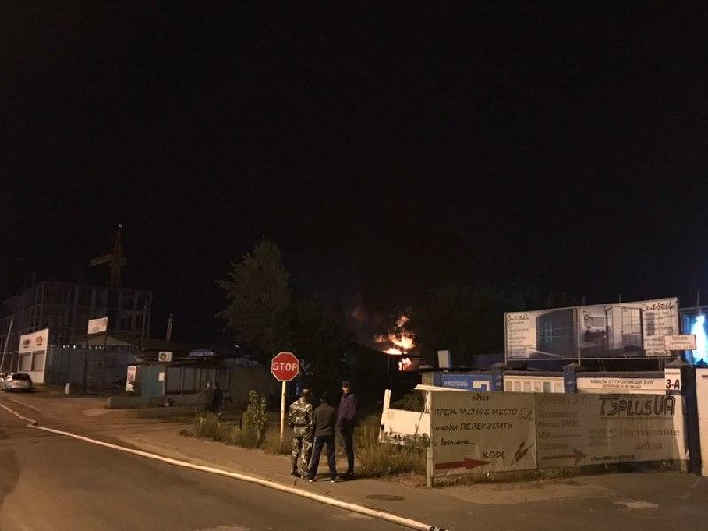 На данный момент улицу Вискозную перекрыли