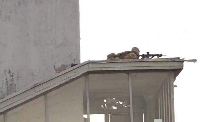 Снайперы на месте