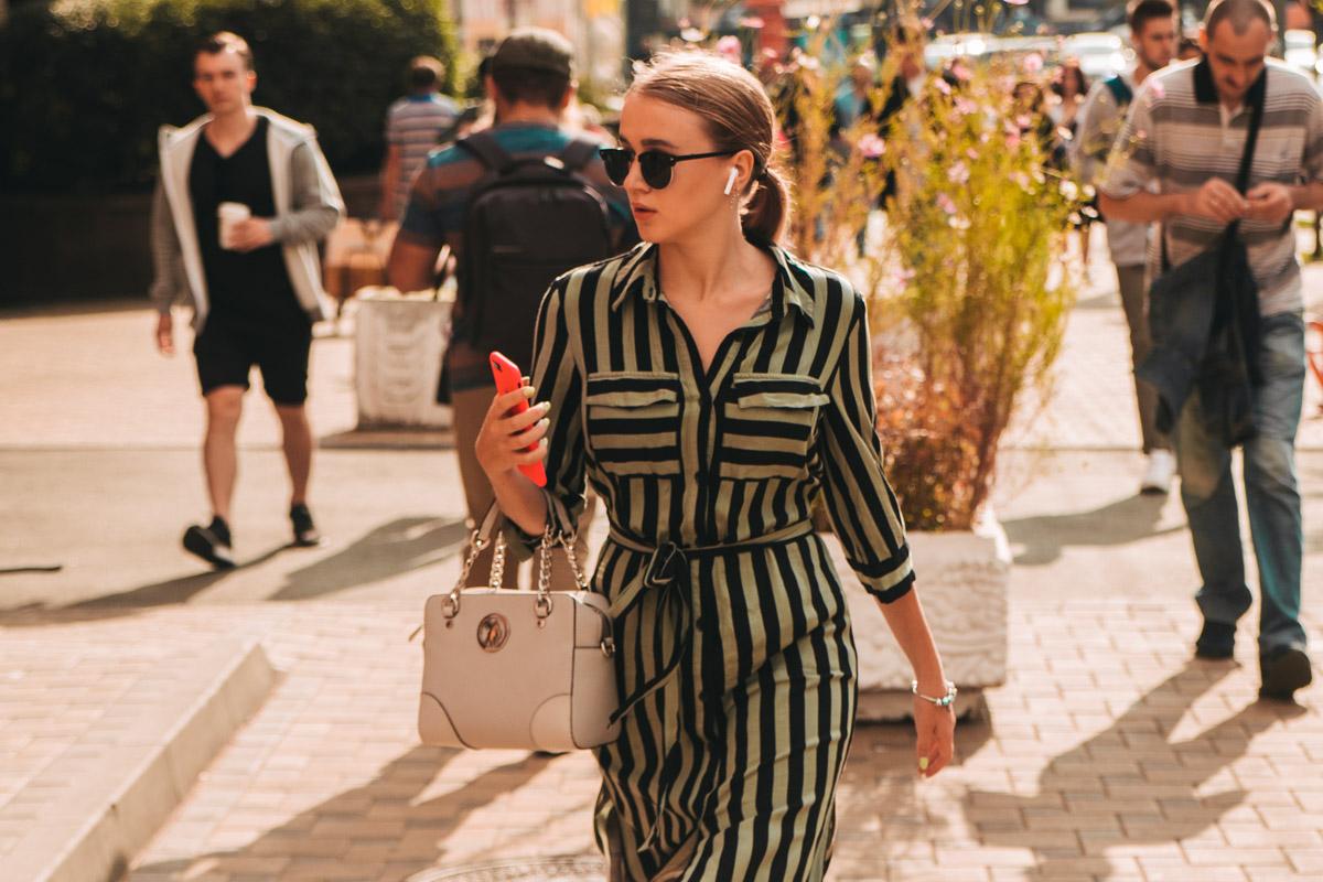 Столько стильных девушек на улицах столицы