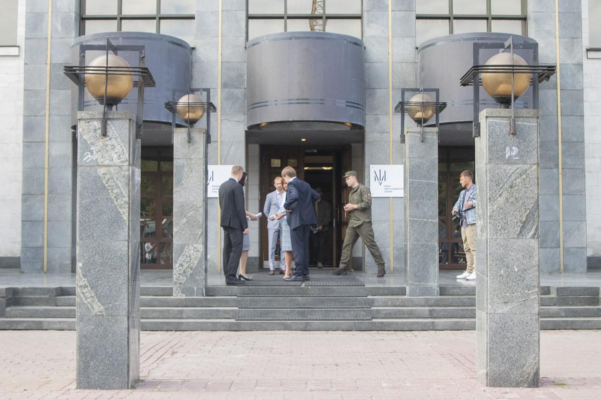 5 сентября на проспекте Победы открыли Высший Антикорупционный суд