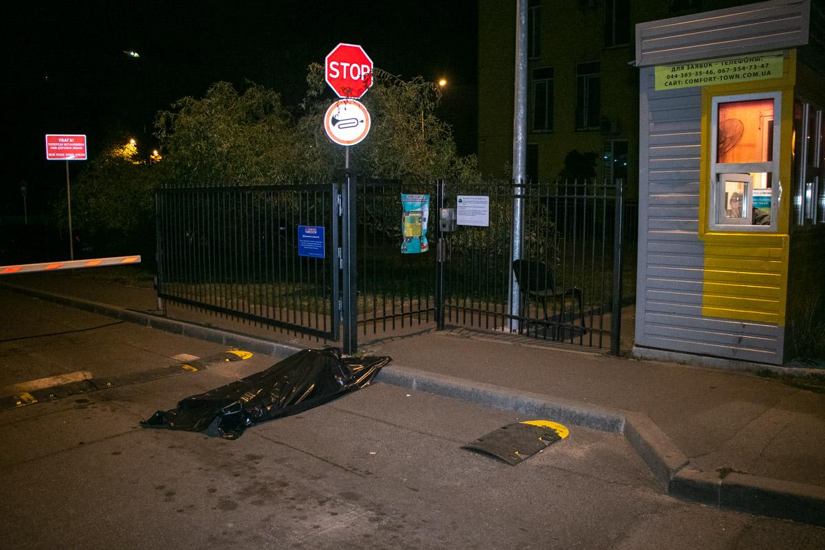 В ночь на 9 сентября в Киеве по адресу улица Регенераторная, 4 обнаружили труп мужчины