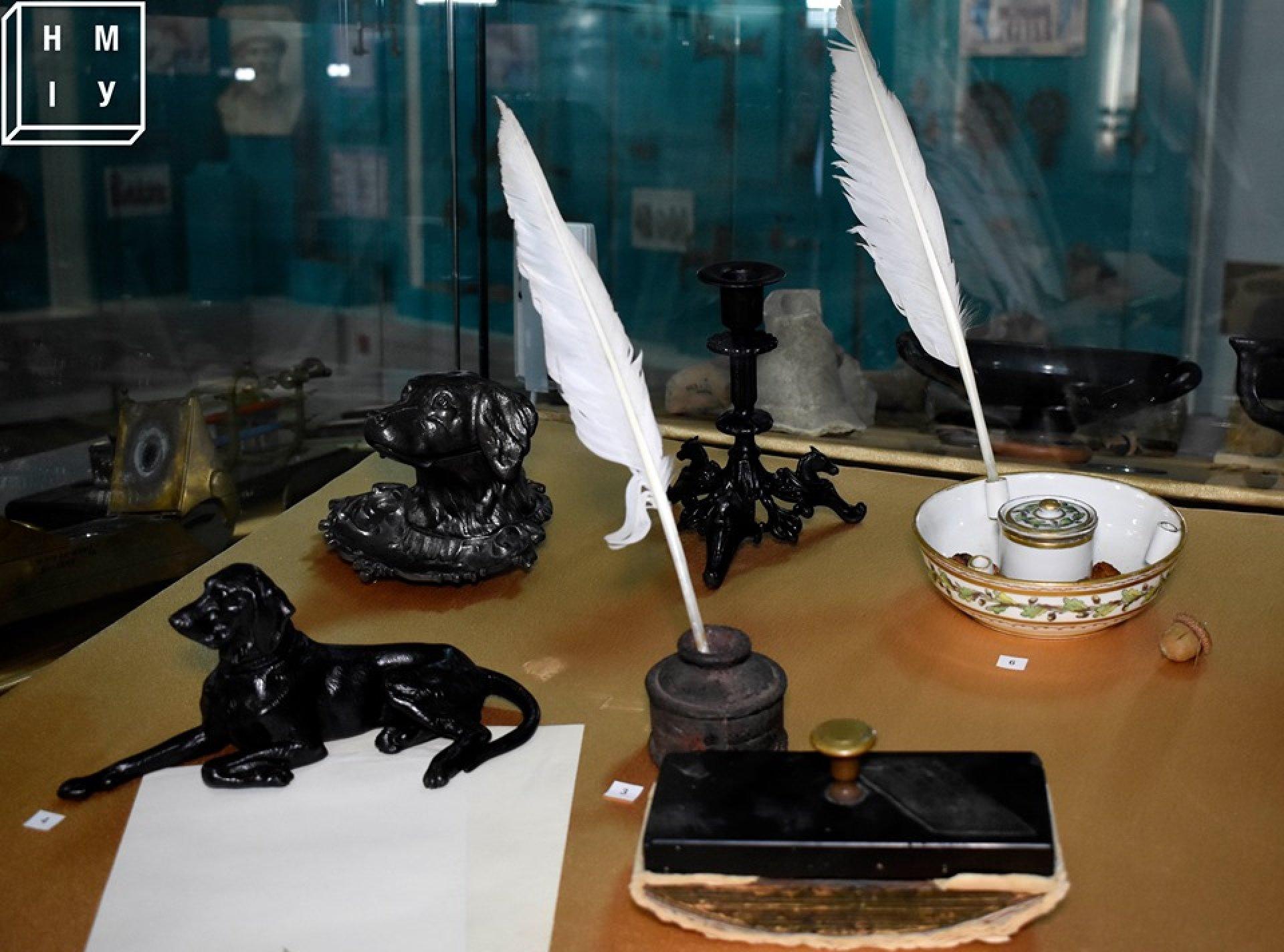 В Национальном музее истории Украины вы можете познакомиться с ремеслом писателя изнутри