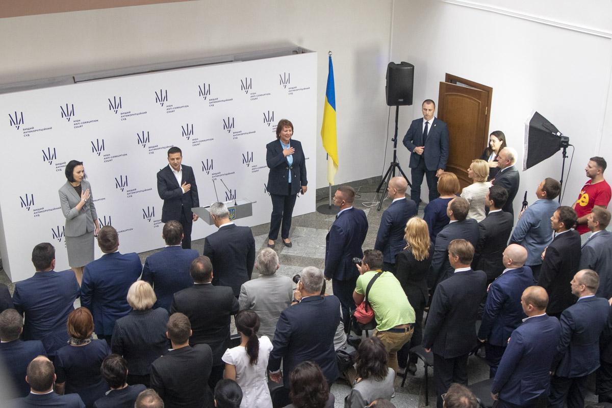 На торжественном открытии выступал Владимир Зеленский