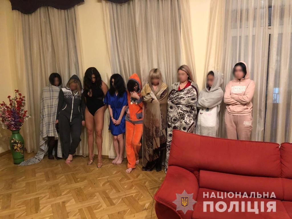 В Киеве и области работала целая сеть борделей