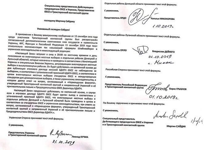 Полный текст документа, который подписала Украина