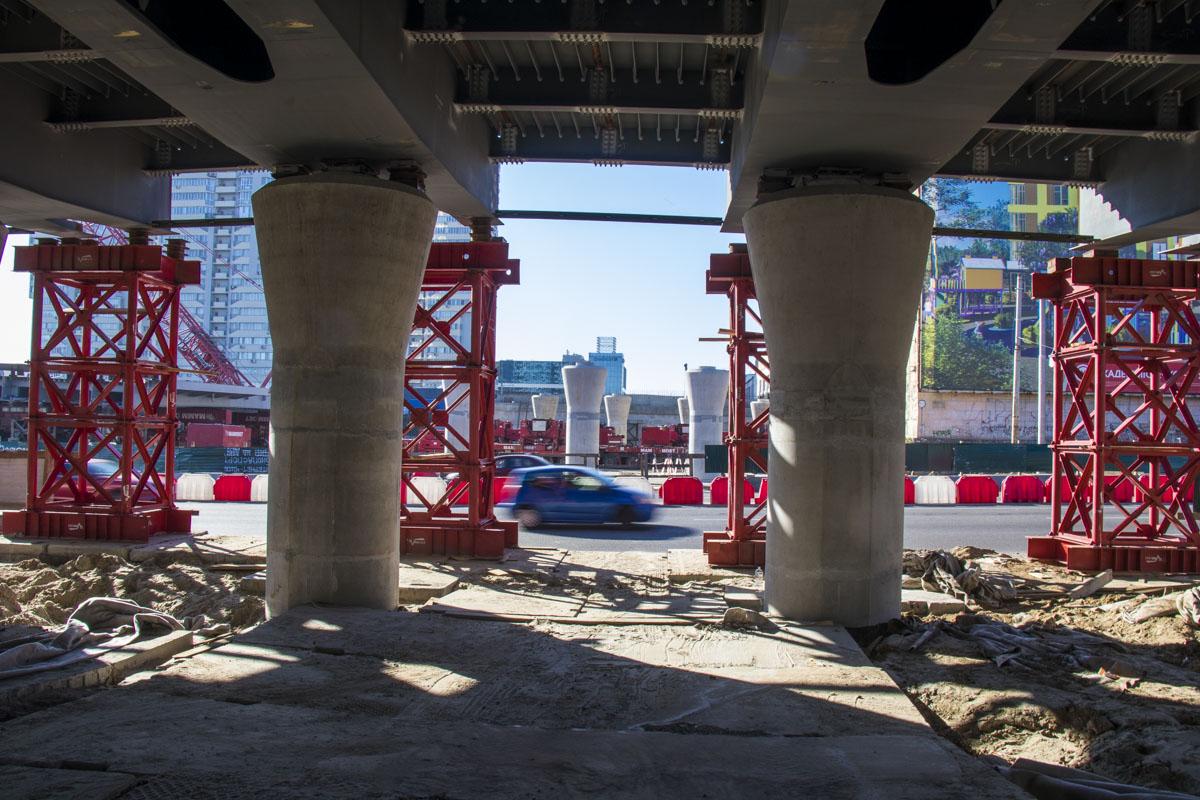 В течение 13-14 октября планировалось установить новый прогон моста