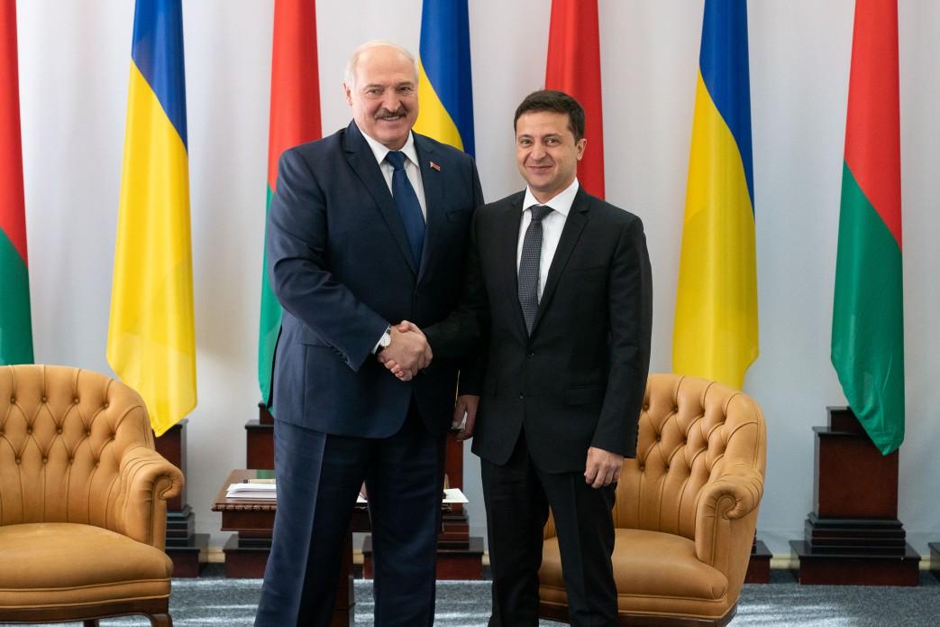 Владимир Зеленский встретился с Александром Лукашенко