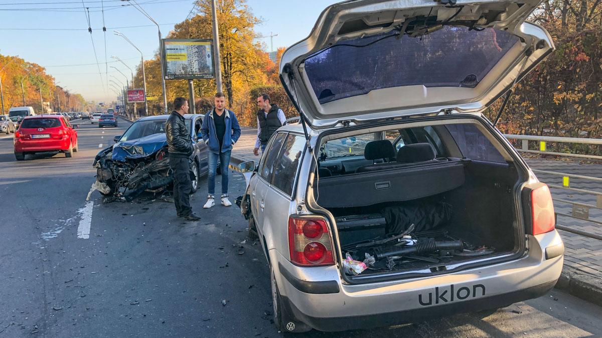 Причины аварии установит патрульная полиция