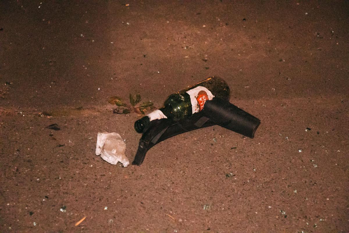 Проходить тест на алкоголь водитель отказался