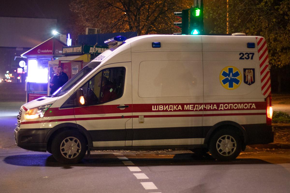 В больницу забрали четверых человек