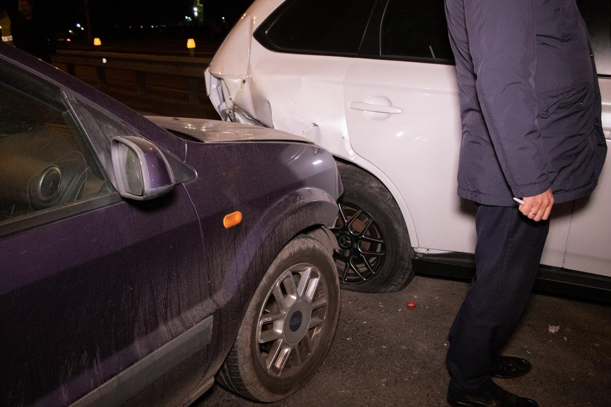 У водителяVolkswagen были явные признаки алкогольного опьянения