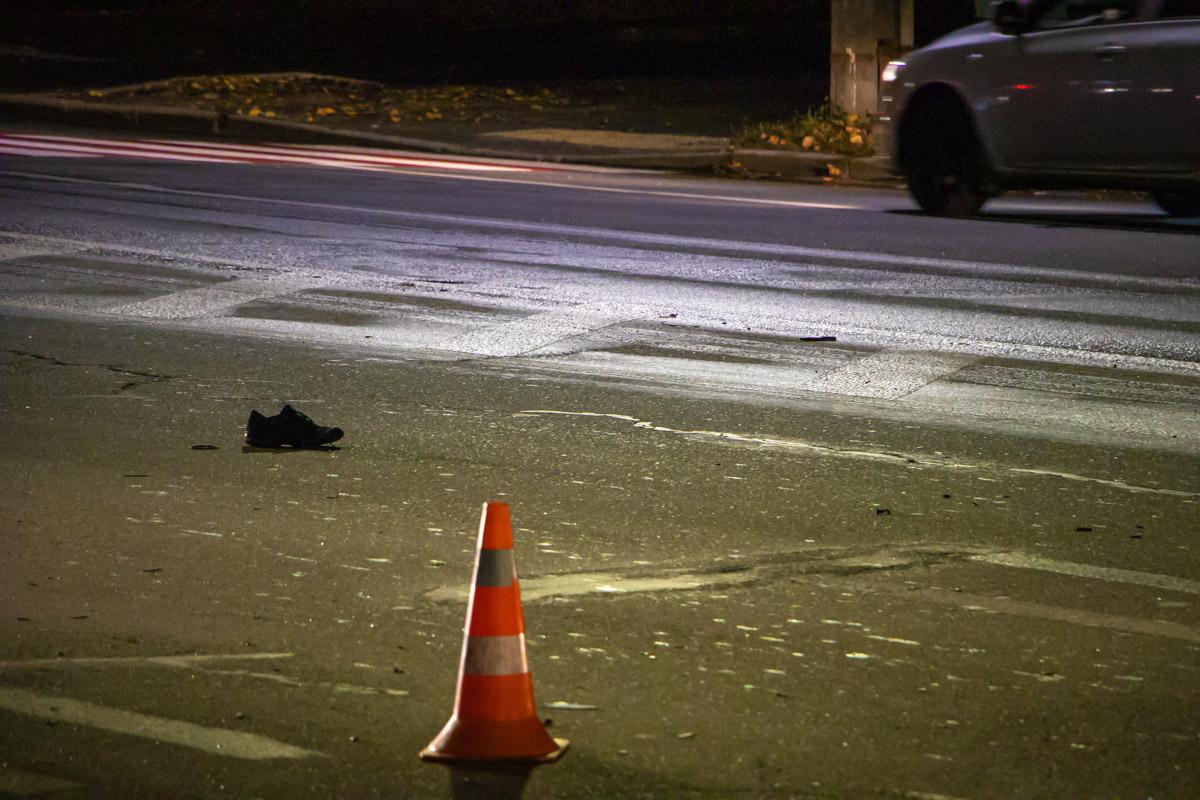 Мужчина попал под колеса Volkswagen