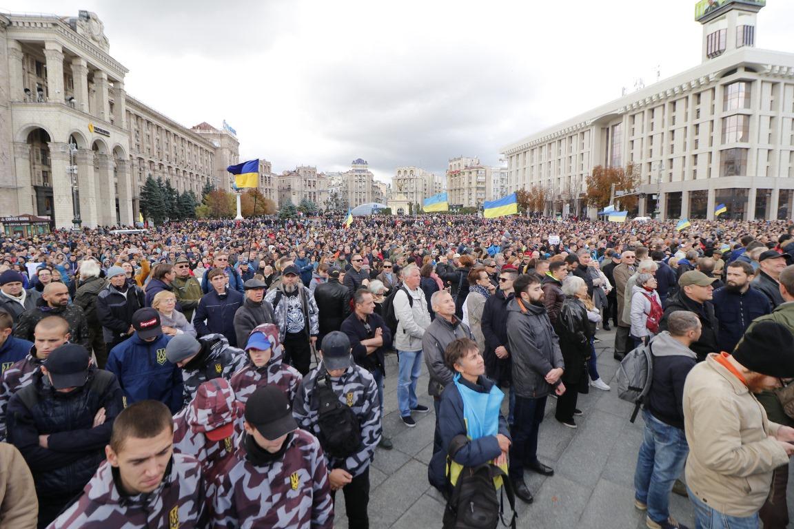 На самом митинге сообщают, что пришло около 5 тысяч человек