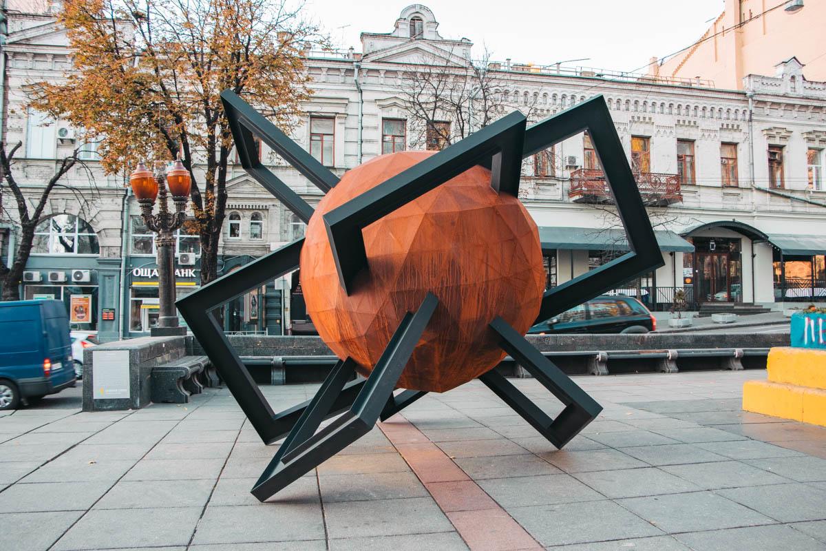 Объект «Противостояние» установлен временно и через полгода скульптура, как символ свободы, отправится в другие города