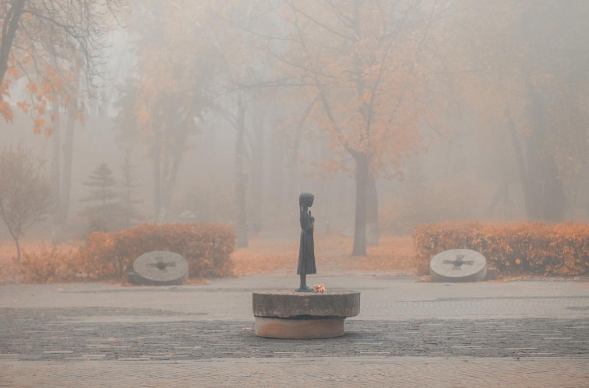 Утренние прогулки в тумане - это очень атмосферно