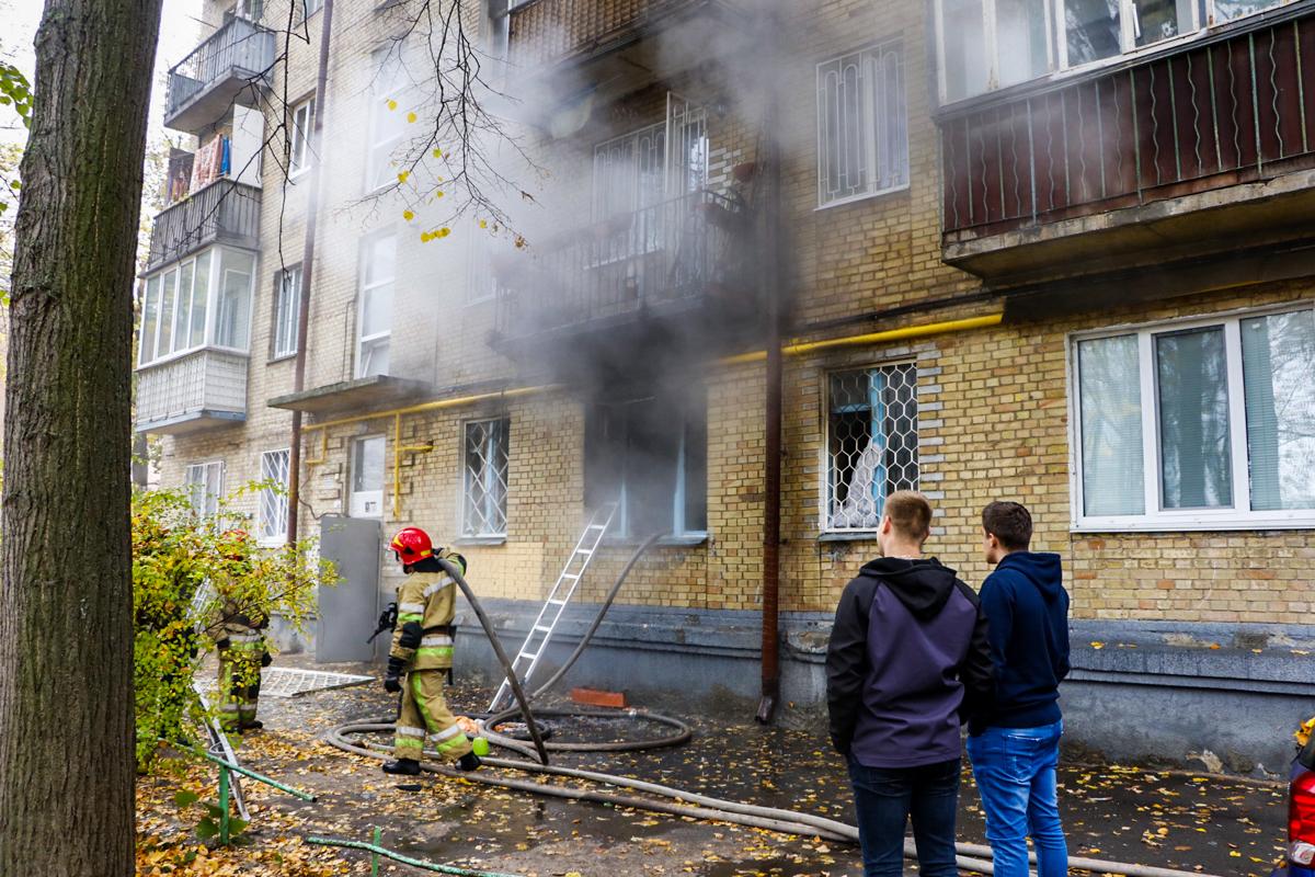 25 октября в квартире на первом этаже пятиэтажного дома по адресу улица Бойчука, 4а произошел пожар