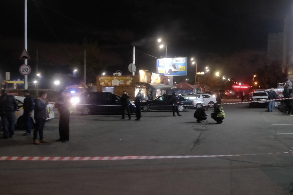 В ночь на 5 октября в столице произошла массовая драка