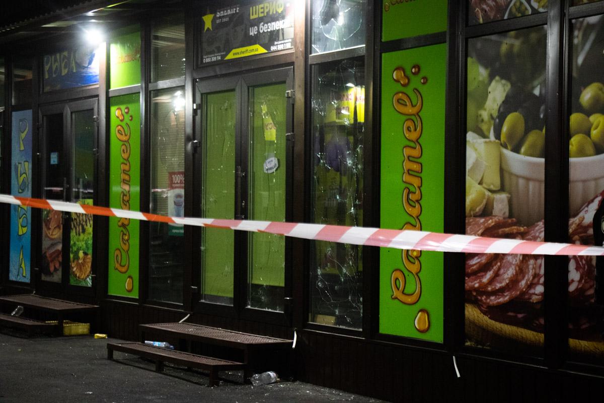 Взрыв повредил стекла и фасад сооружений