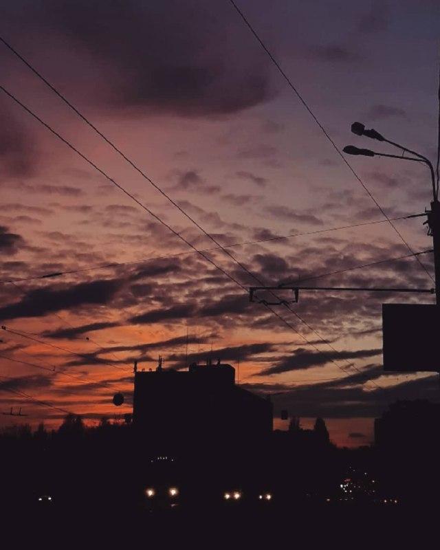 Небесный градиент во всей красе от @4449an