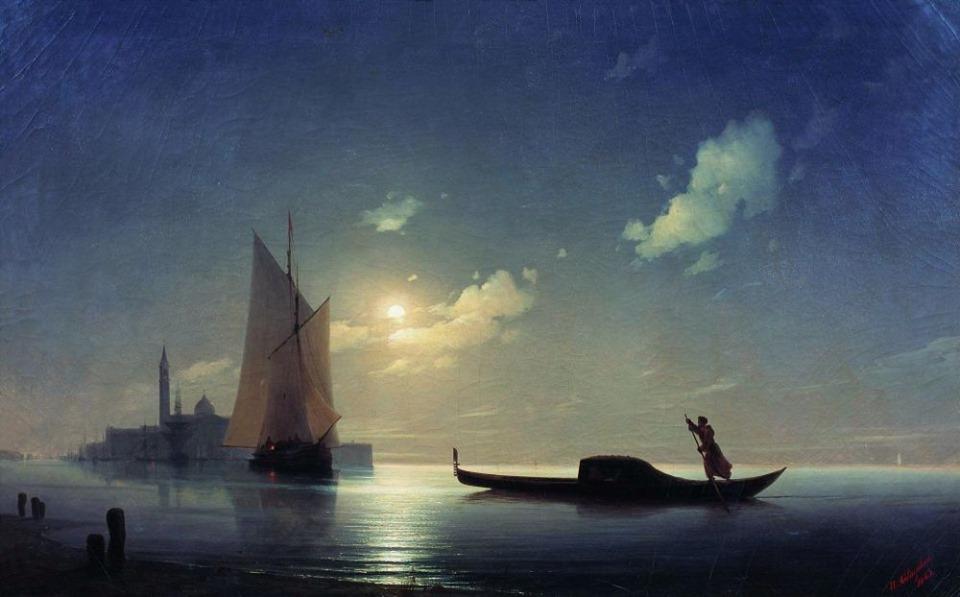 Взглянем на легендарные картины Айвазовского по-новому