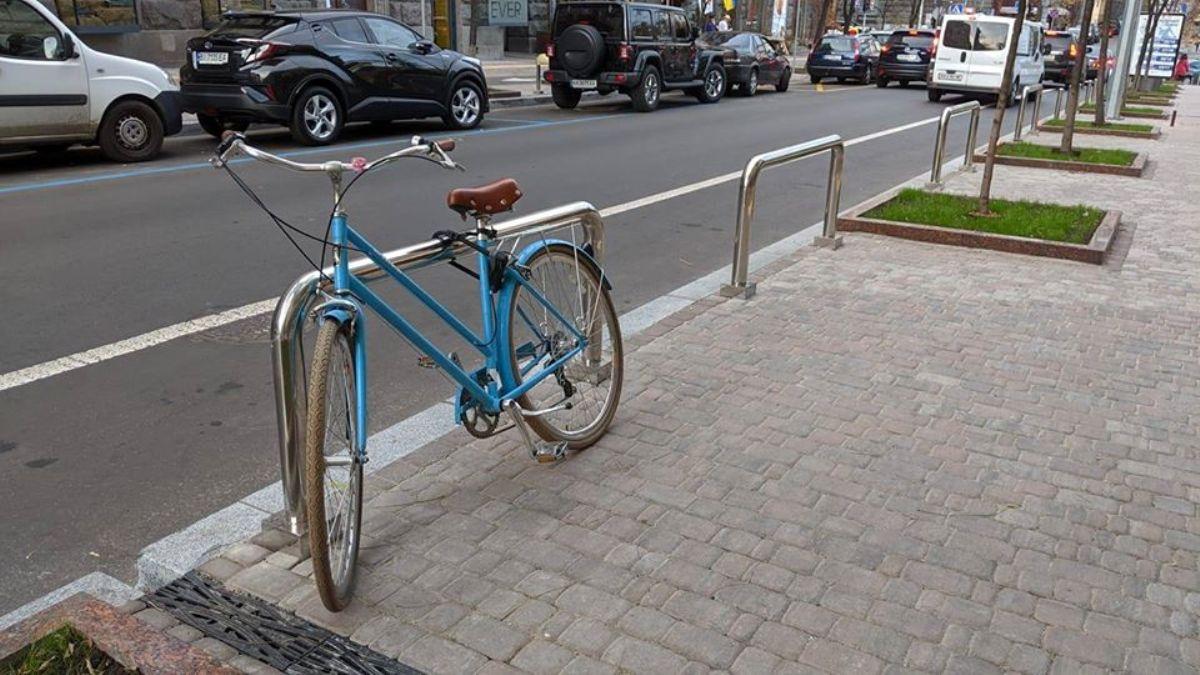 Велосипедная инфраструктура Киева становиться более практичной