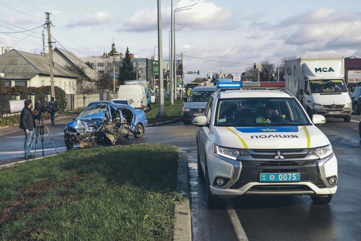 Прошедшая неделя в Киеве ознаменовалась смертельными ДТП