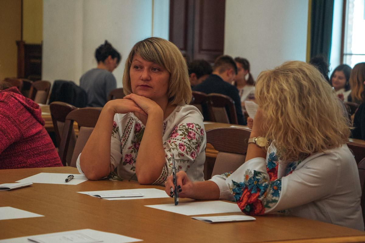 Серед присутніх було багато викладачів української мови та літератури